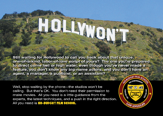 Don't Wait For Hollywood - Greenlight Yourself